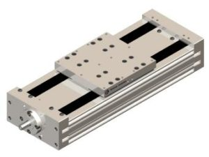 Double linear module with ball screw DUAVI - Kinetic Systems