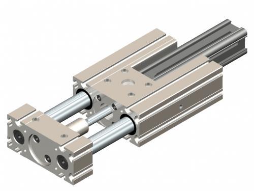 Actionneur linéaire pneumatique KAP - Kinetic Systems
