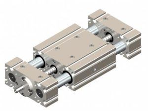 Linear table with ball screw KVD - Kinetic Systems