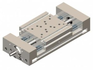 Linear table with ball screw KVP - Kinetic Systems