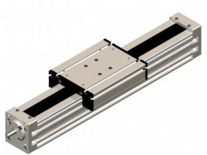 Linear module with ball screw ROLVIS - Kinetic Systems