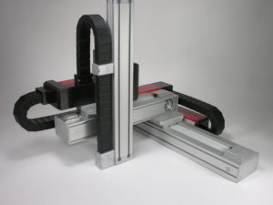 Cartesian robot 3 axes in L - Kinetic Systems